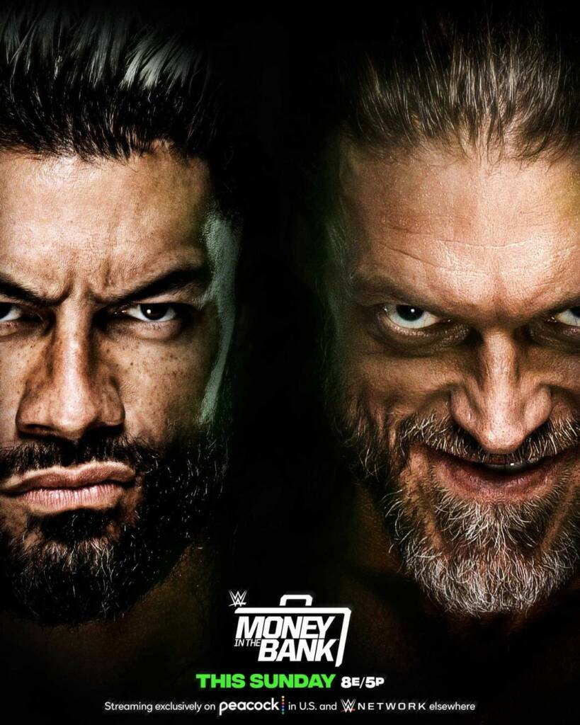 Money in the Bank 2021 Roman Reigns Edge