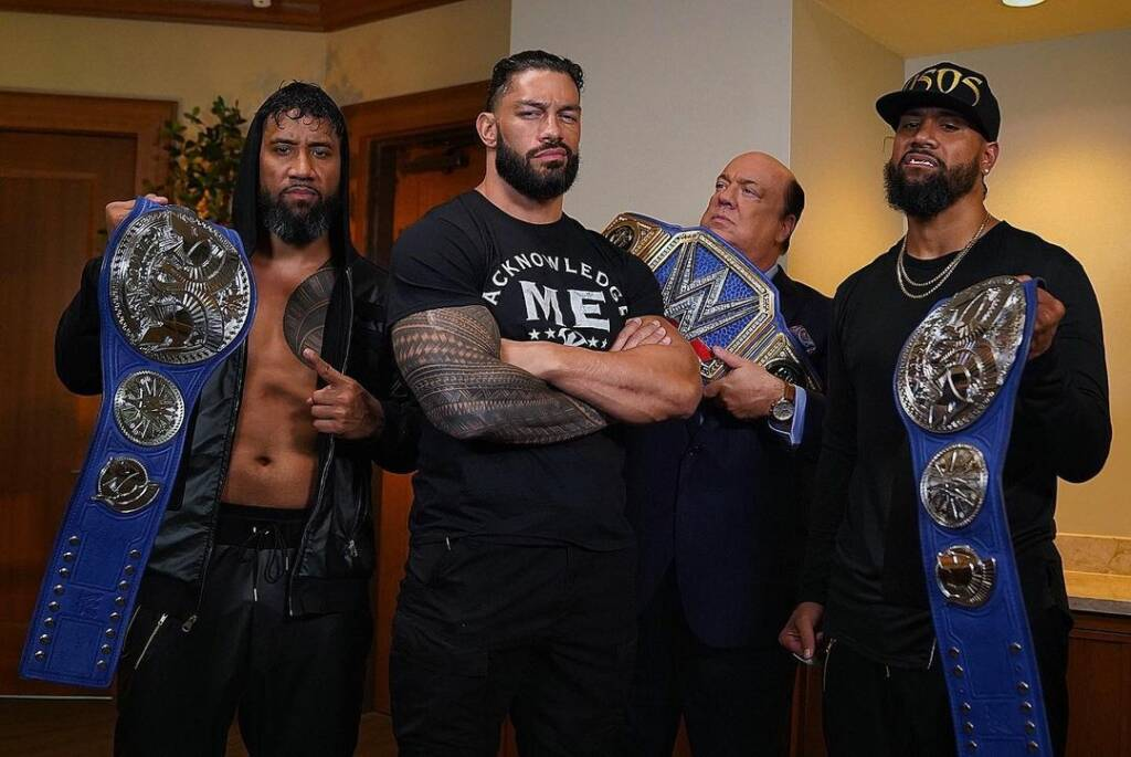 WWE Roman Reigns mejor superestrella Triple H