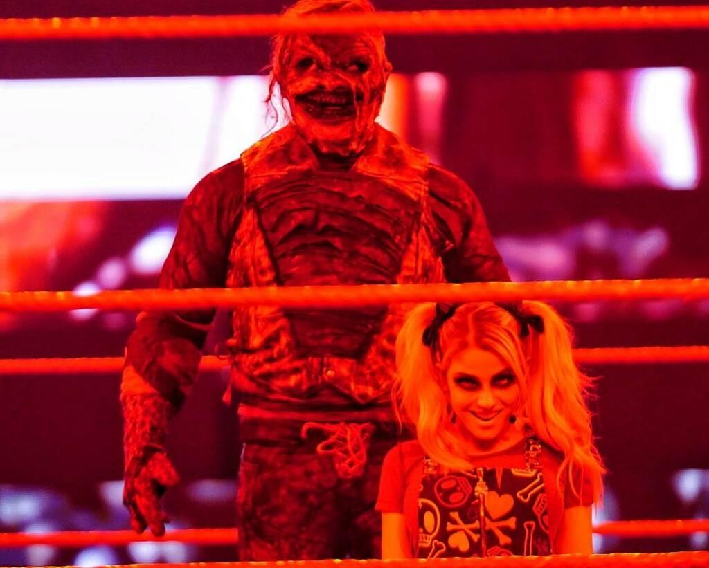 Alexa Bliss reacciona Bray Wyatt despido