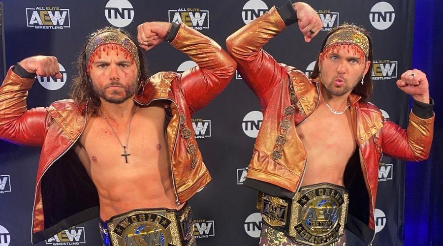 The Young Bucks Bryan Punk