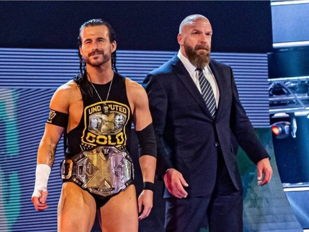 Adam Cole contrato WWE
