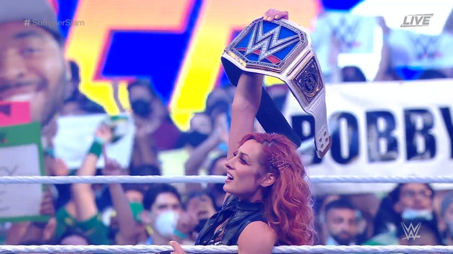 Becky Lynch regreso WWE SummerSlam 2021