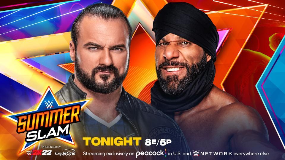 WWE SumerSlam 2021 sábado 21 de agosto