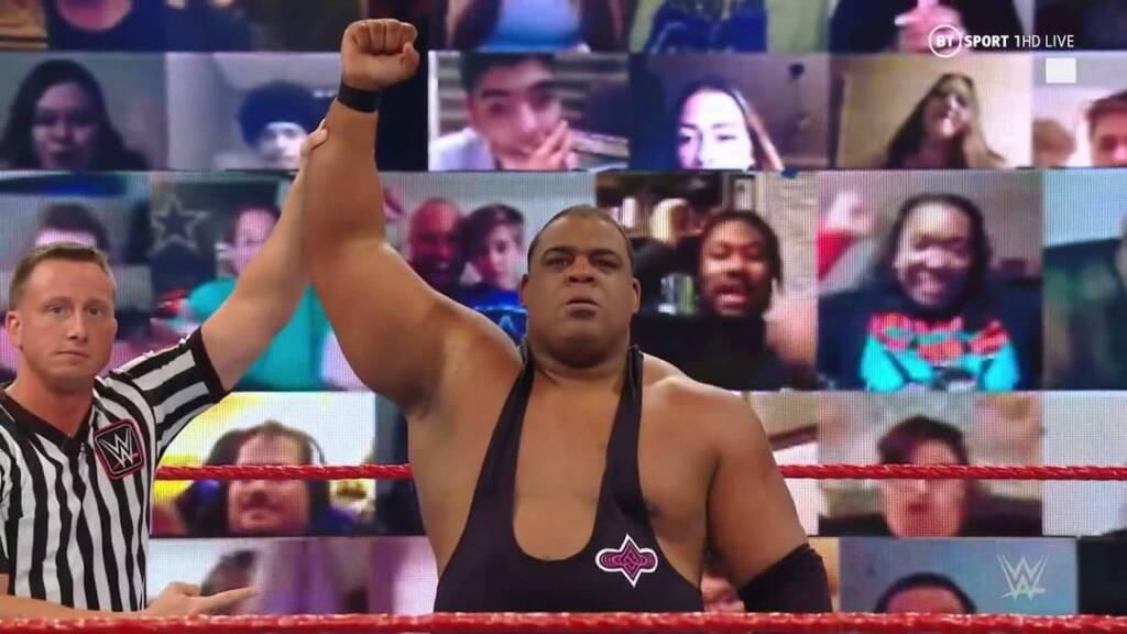 Keith Lee próximo en WWE para él