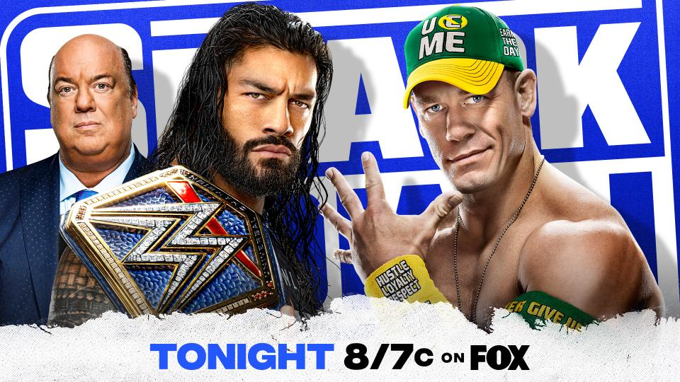 Roman Reigns John CENA Nikki Bella SmackDown