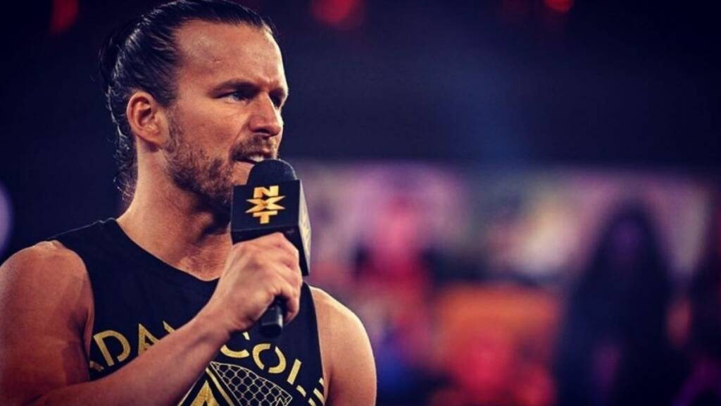 Adam Cole plan WWE Raw roster principal